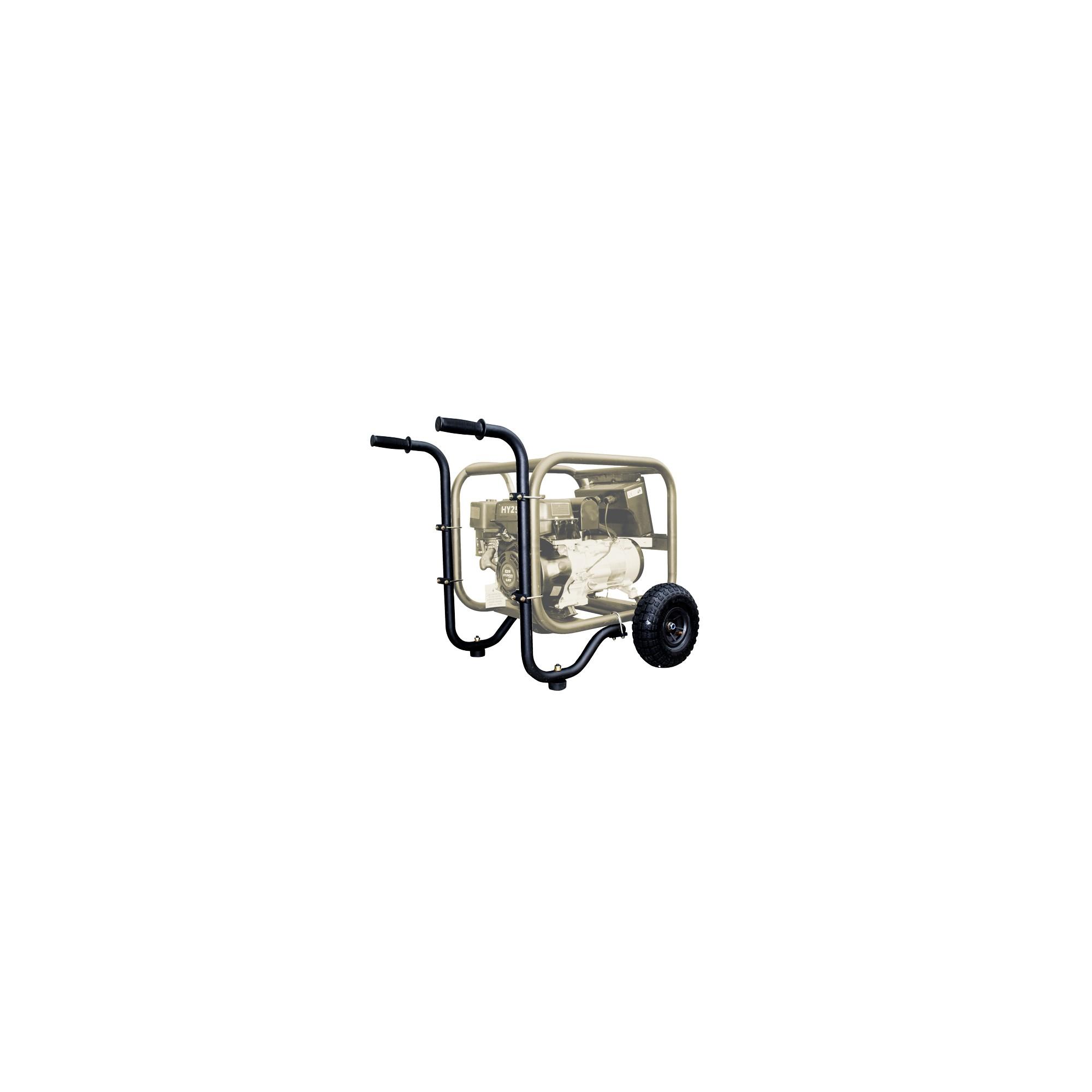 Kit de ruedas neumático para generadores y motobombas