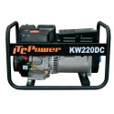KW220DC Motosoldadora Gasolina con alternador LINZ