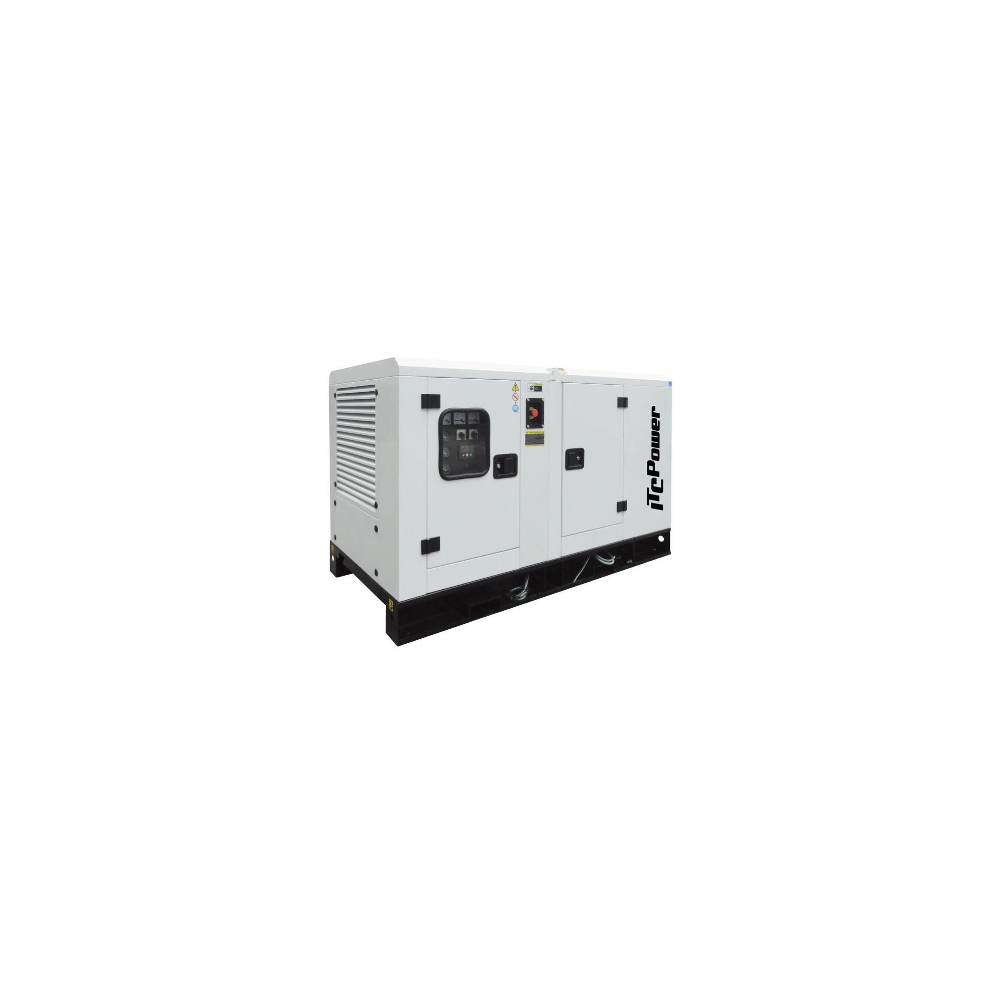 DG16KSE Grupo eElectrógeno Insonorizado Trifásico ITCPower 16KVAS