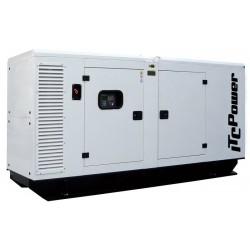 DG90KSE Grupo Electrógeno Insonorizado Trifásico ITCPower 90KVAS