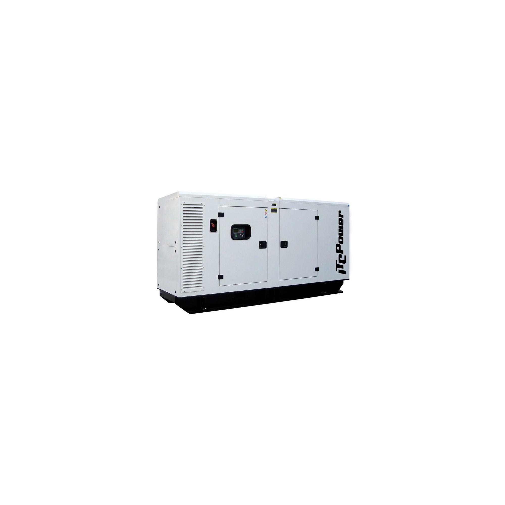 GRUPO ELECTROGENO INSONORIZADO TRIFÁSICO ITCPOWER DG90KSE 90KVAS