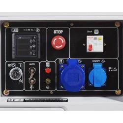 Generador Diésel Monofásico ITCPower DG7800SE 6300w