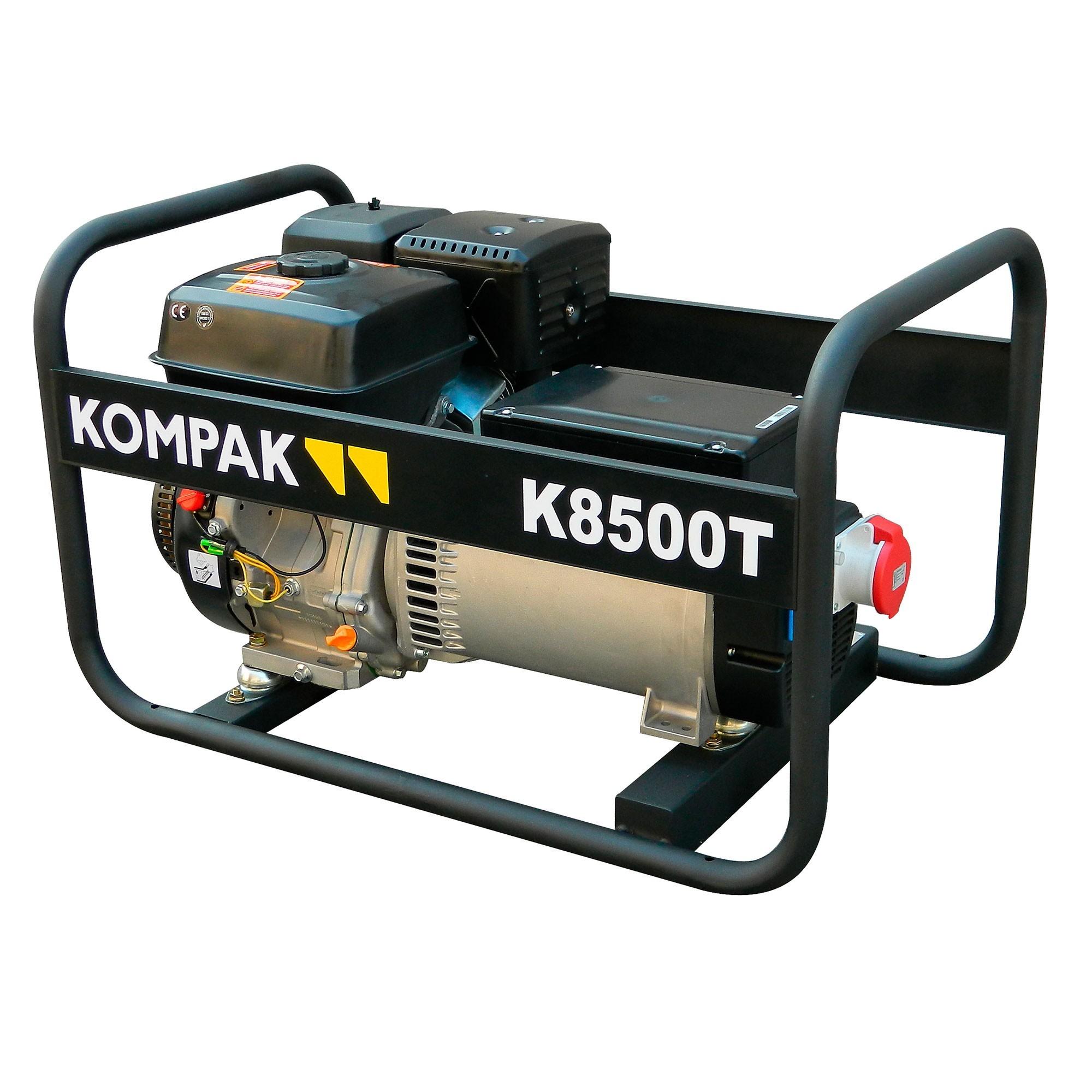 K8500T-KIT Generador Gasolina alternador LINZ trifásico