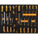 Carro de herramientas de 345 piezas