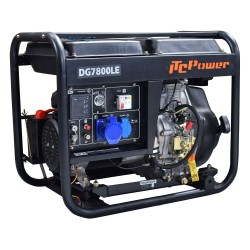 Generador Diésel Monofásico DG7800LE ITCPower