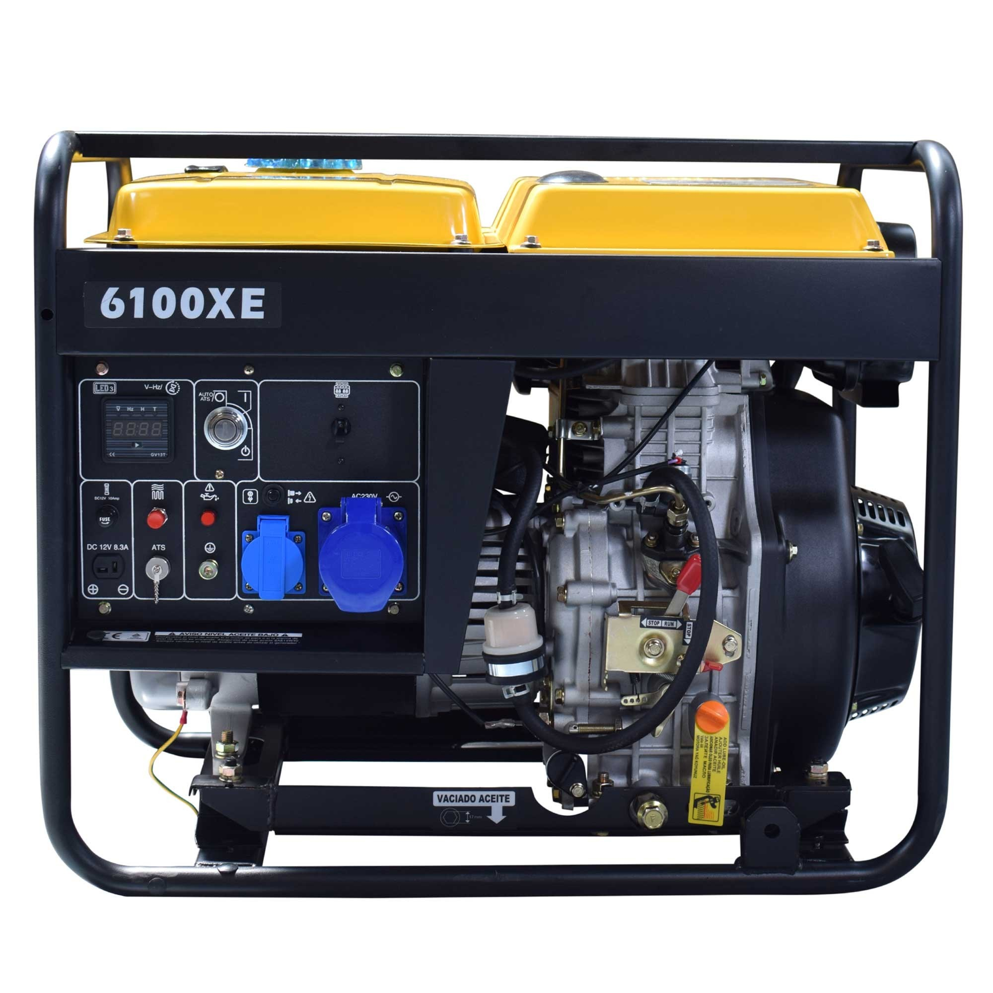 NT6100XE Generador diesel itcpower