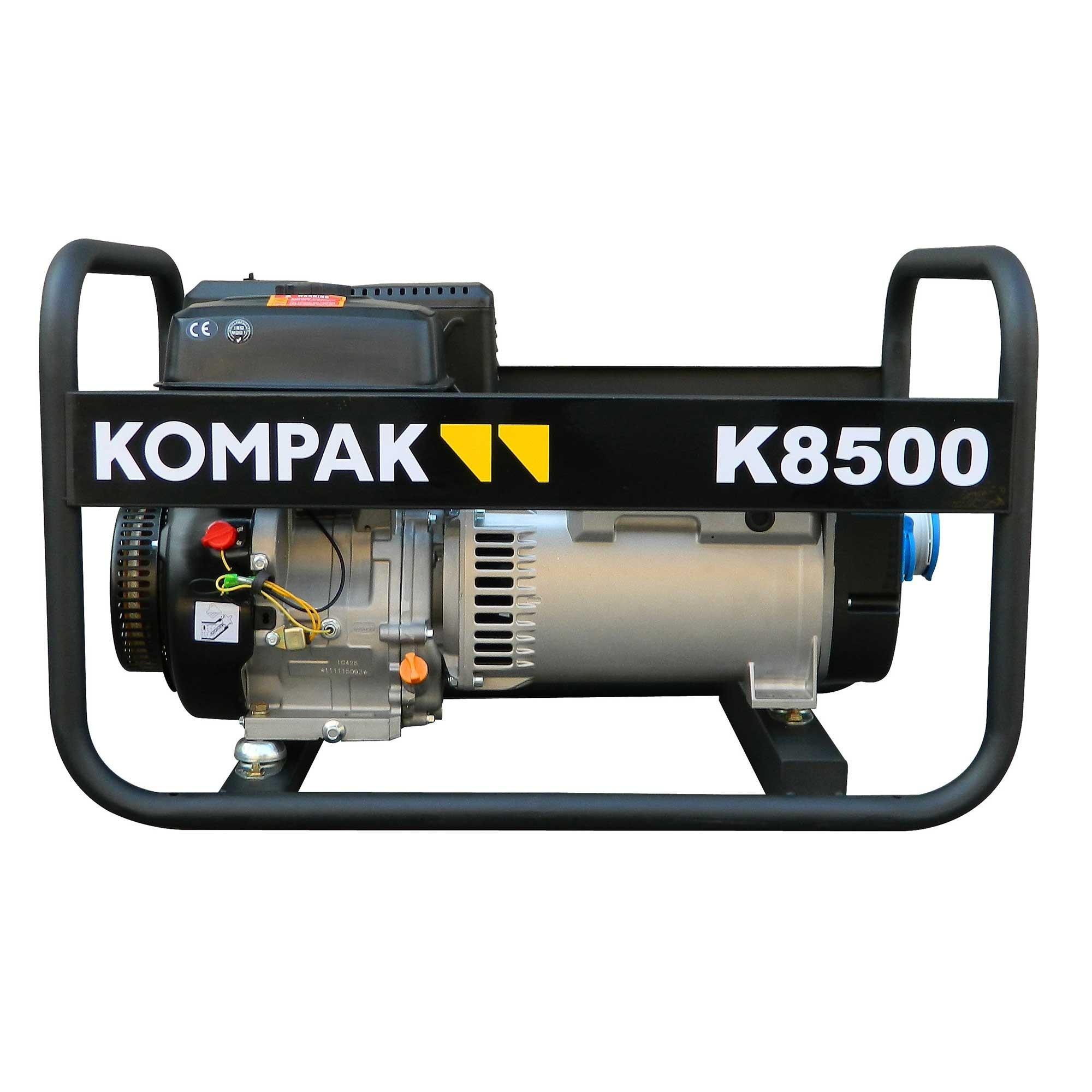 K8500 Generador Gasolina alternador LINZ monofásico