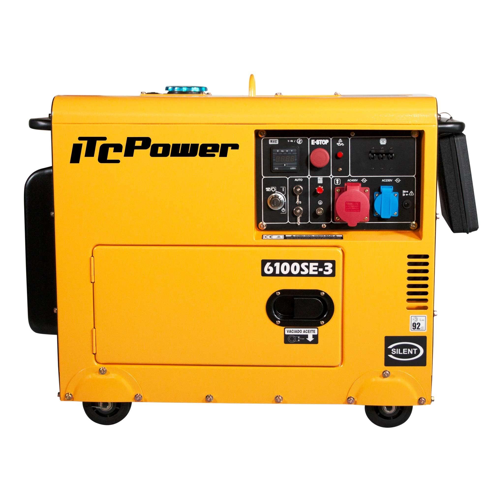 Generador Diésel ITCPower  Insonorizado