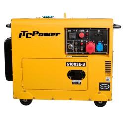 Generador Diésel ITCPower  Insonorizado 6100SE-3