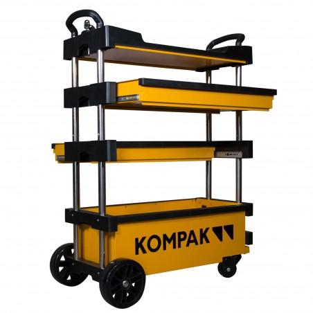 KT01 Carro de Herramientas desplegable y transportable Kompak