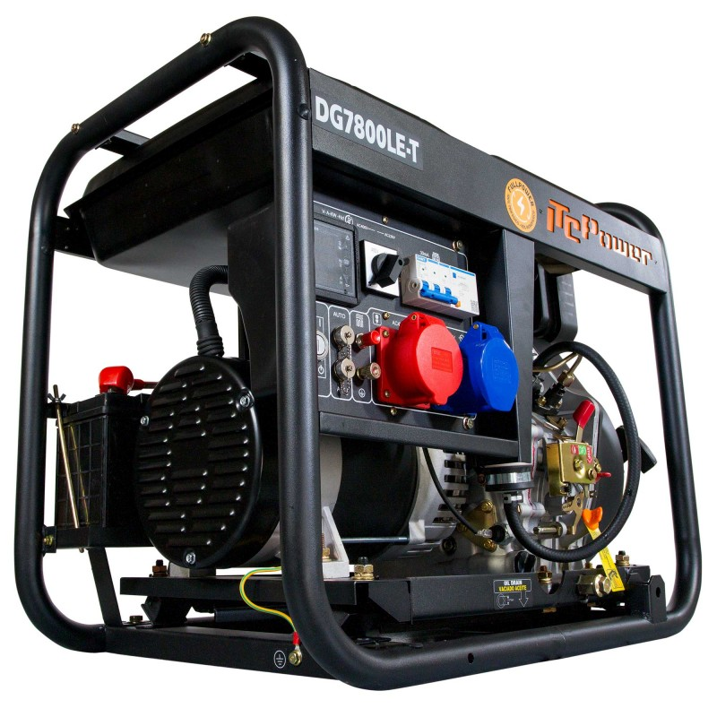 Generador Diésel FULL POWER DG7800LE-T  ITCPower