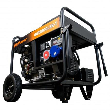 Generador Gasolina FULL POWER ITCPower GG15000LEK-T