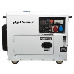 Generador Diesel ITCPower DG6000SE-3