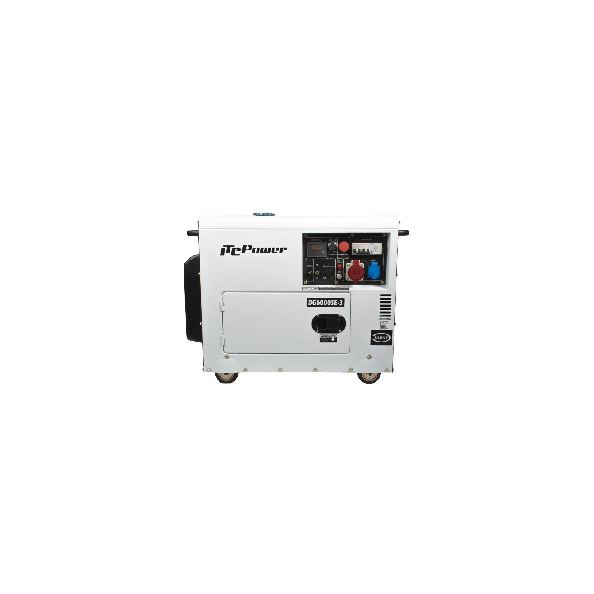 DG6000SE-3 Generador Diesel ITCPower