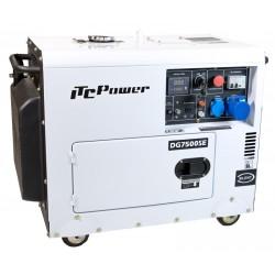 Generador Diesel ITCPower DG7500SE