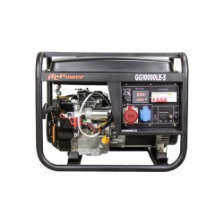 Generador Gasolina Trifásico  ITCPower GG10000LE-3 9.75KVA