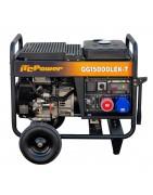 Generador Gasolina Trifásico y Monofásico Full Power